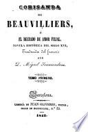 Corisanda de Beauvilliers, ó, El dechado de amor filial