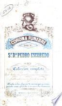 Corona fúnebre del Sr. Dn. Pedro Escobedo