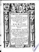 Corona sepulcral. Elogios en la muerte de Don Martin Suarez de Alarcon ... escritos por diferentes plumas. Sacadas a luz por Don Alonso de Alarcon