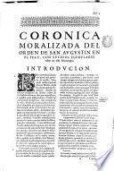 Coronica del orden de s. Augustin en el Peru