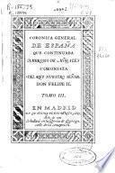 Coronica general de España que continuaba Ambrosio de Morales ...