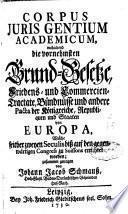 Corpus Juris Gentium Academicum