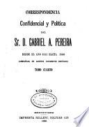 Correspondencia confidencial y política