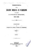 Correspondencia de la Legacion Mexicana en Washington durante la intervencion extranjera. 1860-1868