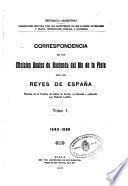 Correspondencia de los oficiales reales de hacienda del Río de la Plata con los reyes de España