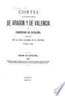 Cortes de los antiguos reinos de Aragón y de Valencia y principado de Cataluña