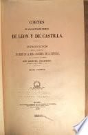 Cortes de los antiguos reinos de Leon y de Castilla
