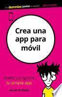 Crea una app para móvil