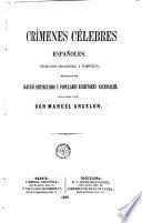 Crímenes célebres españoles
