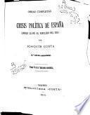 Crisis políticas de España