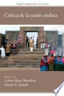 Crítica de la razón andina