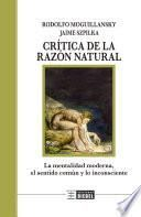 Crítica de la razón natural