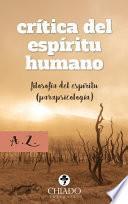 Crítica del Espíritu Humano