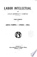 Critica filosofica, literaria, social