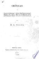 Críticas y bocetos históricos