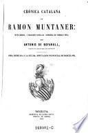 Crónica catalana de Ramon Muntaner