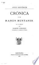 Crónica d'en Ramon Muntaner