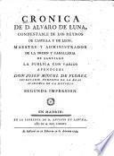 Cronica de D. Alvaro de Luna,