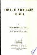 Crónica de la codificación española