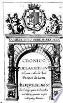 Cronica de la excelentissima casa de los Ponces de Leon