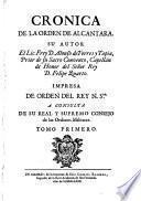 Cronica de la Orden de Alcantara