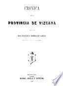Crónica de la provincia de Vizcaya