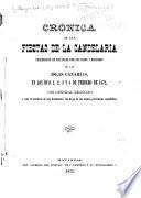 Cronica de las fiestas de la Candelaria celebradas en Matanzas por los hijos y oriundos de las Islas Canarias, en los dias 1, 2, 3 y 4 de febrero de 1872 ...
