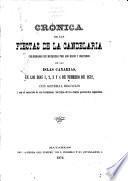 Crónica de las fiestas de la Candelaria celebradas en Matanzas por los hÿos y oriundos de las Islas Canarias, en los días 1, 2, 3 y 4 de febrero de 1872, etc