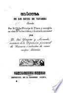 Crónica de los reyes de Navarra