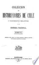 Crónica del reino de Chile (reducida a nuevo método y estilo, por B. de Escobar).