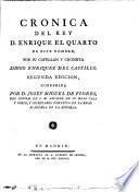 Crónica del rey D. Enrique el Quarto de este nombre