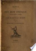 Crónica del rey don Enrique