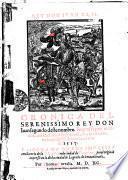 Cronica Del Serenissimo Rey Don Iuan segundo deste nombre. Impressa por mandado del Catholico Rey don Carlos su visnieto, en la ciudad de Logroño, el año de 1517