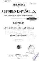 Crónicas de los Reyes de Castilla