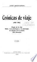 Crónicas de viaje, 1905-1906