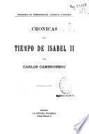 Crónicas del tiempo de Isabel II