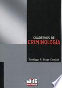 Cuadernos de Criminología.