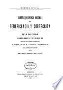 Cuarta Conferencia Nacional de Beneficencia y Corrección de la Isla de Cuba