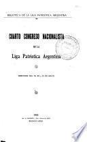 Cuarto Congreso Nacionalista de la Liga Patriótica Argentina