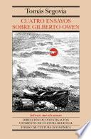 Cuatro ensayos sobre Gilberto Owen