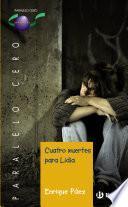 Cuatro muertes para Lidia (ebook)