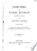 Cuatro poemas de Lord Byron