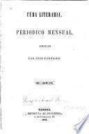 Cuba literaria