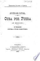 Cuba por fuera (apuntes del natural)