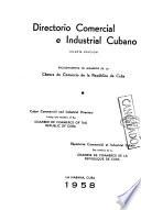 Cuban commercial and industrial directory