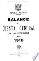 Cuenta General de la Republica de la Republica