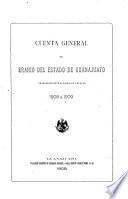 Cuenta general del Erario de Estado de Guanajuanta