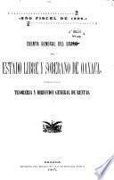 Cuenta general del Erario del Estado libre y sobreno de Oxaca