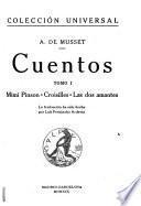Cuentos ... la traducción ha sido hecha por Luis Fernández Ardavin