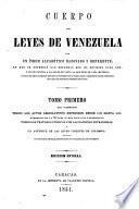 Cuerpo de leyes de Venezuela